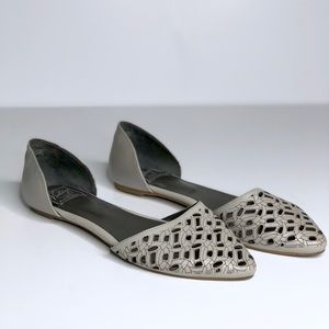 Vintage by Jeffrey Campbell D'Orsay flats